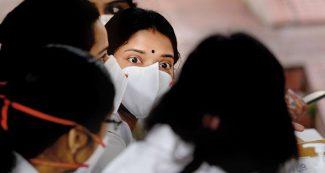 टॉप-10 संक्रमित देशों में शामिल हुआ भारत, पिछले 24 घंटों में सामने आए सबसे ज्यादा नए मामले