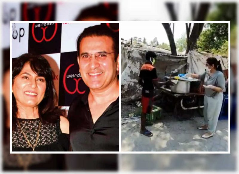 पति परमीत के साथ अर्चना पूरण सिंह ने बांटा खाना, इस नेक काम का वीडियो हो रहा वायरल
