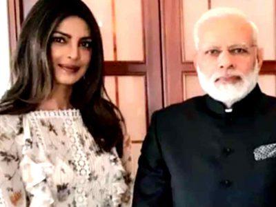 प्रियंका चोपड़ा ने की देश की मदद तो भावुक हुए पीएम, इस तरह किया शुक्रिया