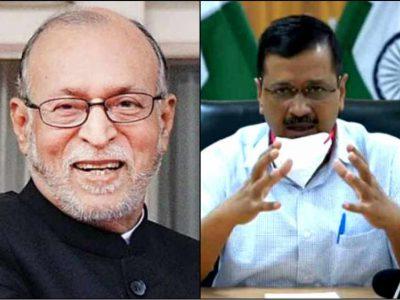 दिल्ली में AAP-BJP आमने-सामने, उप राज्यपाल ने पलट दिए केजरीवाल के 2 अहम फैसले