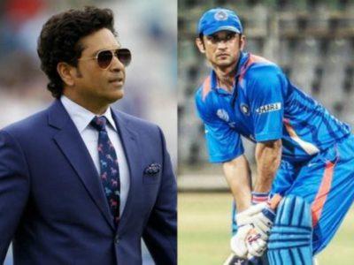सुशांत की बल्लेबाज देख चौंक गये थे सचिन तेंदुलकर, कही थी ऐसी बात