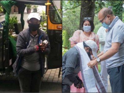 महिला ऑटो ड्राईवर को सलाम, कोरोना से उबरे मरीज़ को 100 किमी. दूर पहुंचाया घर, सरकार से नकद ईनाम