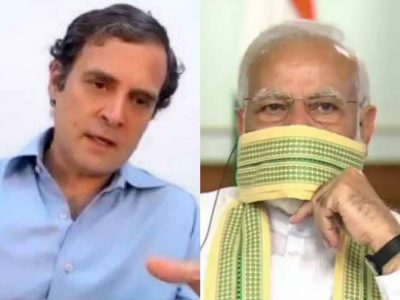 क्या मोदी सरकार कोरोना से हार रही है ? राहुल गांधी ने ग्राफ शेयर कर तस्वीर स्पष्ट की