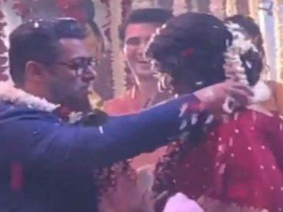 सफेद दाढी और सूट-बूट ने सलमान खान ने कैटरीना से की शादी! तेजी से फैल रहा वीडियो