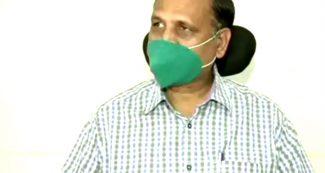 दिल्ली के स्वास्थ्य मंत्री सत्येन्द्र जैन में दिखे कोरोना के लक्षण,  तेज बुखार–खांसी के बाद अस्पताल में भर्ती