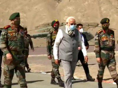 Video: सेना का हौसला बढ़ाने सीधे लेह-लद्दाख जा पहुंचे पीएम मोदी, सीडीएस और आर्मी चीफ हैं साथ