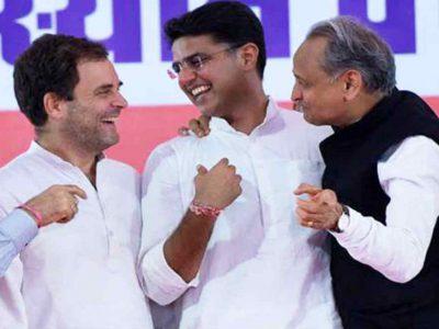 गहलोत का बयान 'जब मैं MP बना तो सचिन पायलट 3 साल के थे, उनके खिलाफ नहीं हूं ये राहुल जानते हैं'