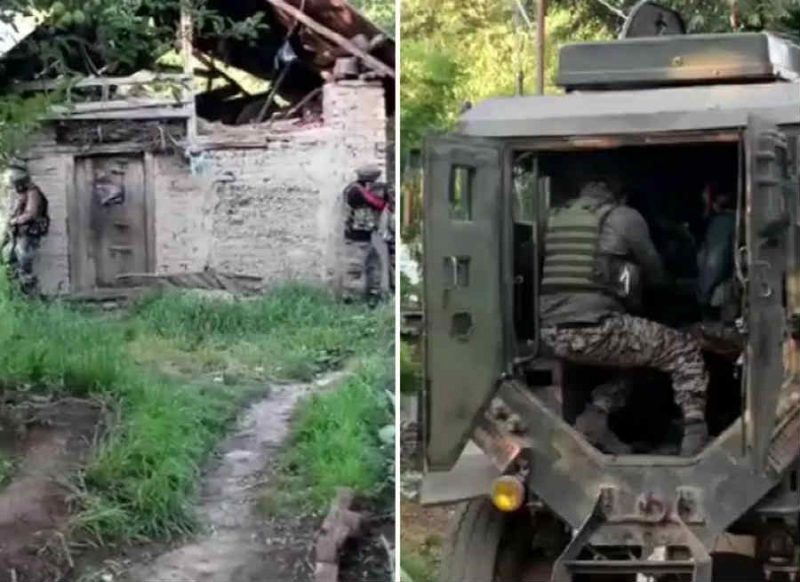 पुलवामा: गोसू इलाके में मुठभेड़  जारी, घर में छिपे हैं 3 आतंकी, सुरक्षाबलों ने एक को मार गिराया