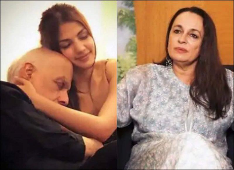 रिया और महेश भट्ट की चैट लीक होने पर पत्नी सोनी राजदान ने तोड़ी चुप्पी, कहा ये सही है