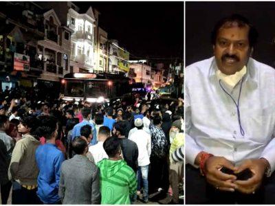 आधी रात जल उठा बेंगलुरु, भयानक तस्वीरें, जानिए कौन हैं ये विधायक श्रीनिवास मूर्ति ?