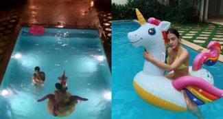 Video: स्विमिंग पूल में बारिश का मजा लेती दिखीं सारा, भाई के साथ वीडियो पर हो रहीं ट्रोल