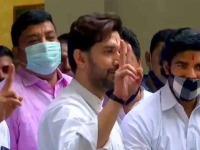 चिराग पासवान ने बीजेपी के लिये मांगा वोट, तेजी से वायरल हो रहा ट्वीट!