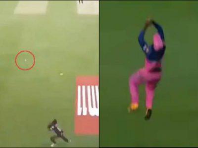 संजू सैमसन की अद्भुत फील्डिंग, तो कमलेश नागरकोटी ने हवा में पकड़ा नामुमकिन कैच, वीडियो
