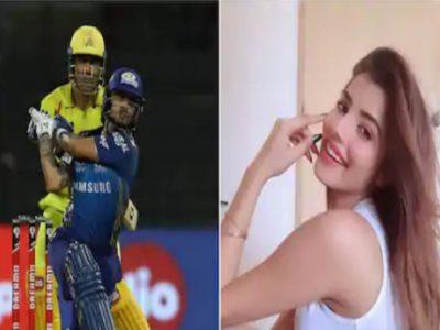 इशान किशन ने स्टेडियम के बाहर पहुंचा दी गेंद, प्रेमिका अदिति का रिएक्शन हो रहा वायरल!
