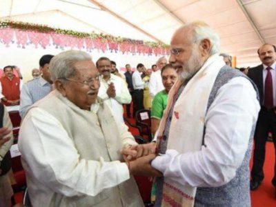 नहीं रहे नरेन्द्र मोदी को राजनीति का ककहरा सिखाने वाले शख्स, पीएम ने खास अंदाज में दी श्रद्धांजलि!
