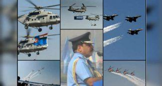 हिंडन बेस पर राफेल और तेजस की गर्जना, एयरफोर्स डे पर अपाचे और Mi 35 ने भी दिखाए करतब