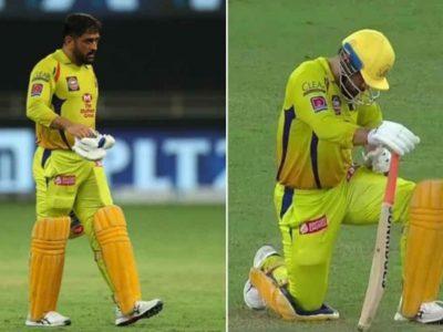 मैच के दौरान बेहद तकलीफ में दिखे धोनी, बताया पूरा मामला, बल्लेबाजी पर भी कही ये बात