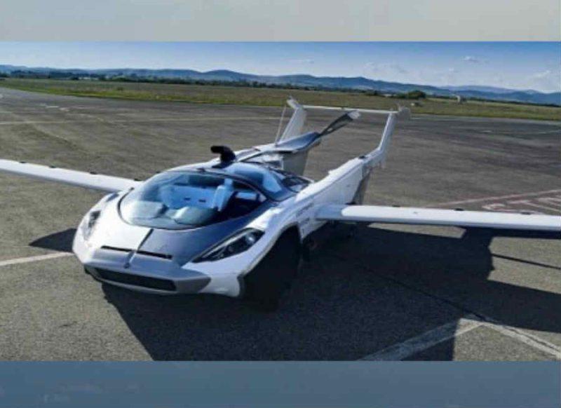 सिर्फ 3 मिनट में ये कार बन जाती है हवाई जहाज, उड़ान देखकर हैरान रह जाइएगा, वीडियो देखिए