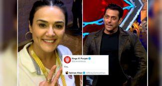 सलमान खान को मिला प्रीति जिंटा के किंग्स XI से करारा जवाब, 2014 में पूछा था ऐसा सवाल