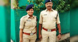 पुलिस चौकी में DSP बेटी को सैल्यूट करते हैं SI पिता, घर पर वही बेटी बनाकर खिलाती है गर्मागर्म खाना
