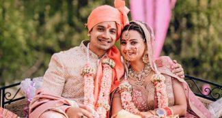 मिर्जापुर 2 में गुड्डू भैया के 'बहनोई' रॉबिन ने रचा ली शादी, पहाड़ी नथ में दुल्हन लग रहीं कमाल