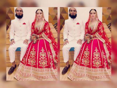मौलवी से निकाह के बाद सना खान को पहचानना हुआ मुश्किल, कार में पति मुफ्ती अनस के साथ आईं थी नजर