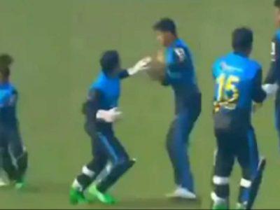 अपने ही खिलाड़ी को मारने दौड़े स्टार क्रिकेटर, बीच मैदान खोया आपा! वीडियो