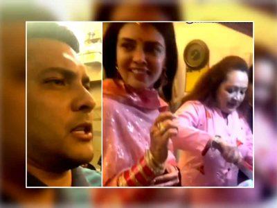 शादी के चंद दिनों बाद ही आदित्य नारायण ने दी पत्नी श्वेता को मायके भेजने की धमकी, वीडियो