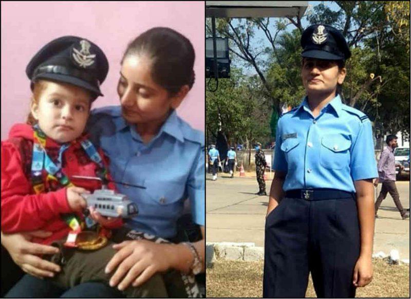 पति की मौत के बाद लिया सेना में जाने का संकल्प, 1 बच्चे की देखभाल करते हुए बनीं फ्लाइंग अफ़सर