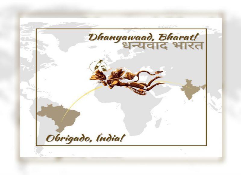 भारत की विश्व में हो रही तारीफ, जानें क्यों संजीवनी ले जाते भगवान हनुमान की फोटो हो रही वायरल