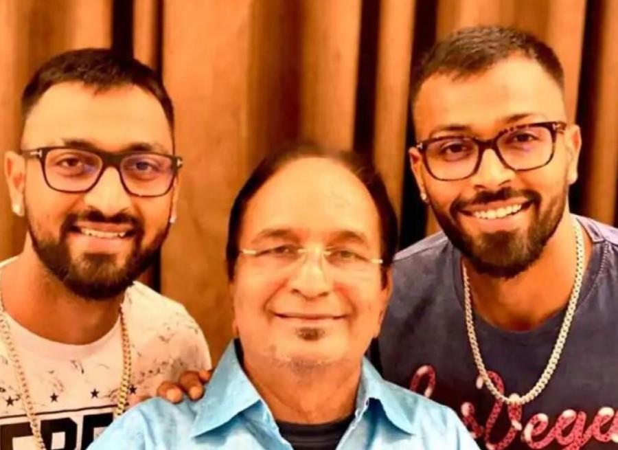 Cricketer Hardik Pandya's father died, elder brother Kunal Pandya left the tournament midway