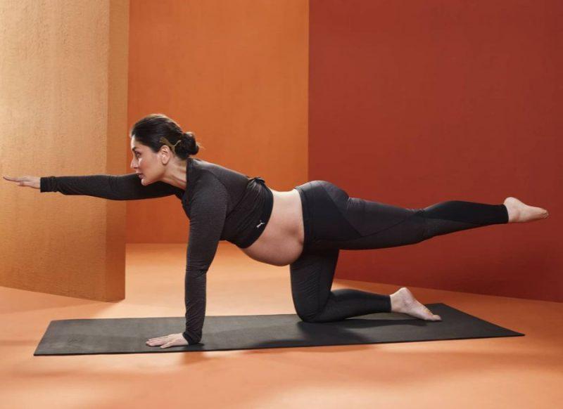 8 महीने प्रेग्नेंट एक्ट्रेस करीना कपूर ने किया योगासन, फैंस के साथ शेयर की फोटोज