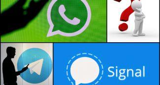 मैसेजिंग एप्स पर कितनी प्राइवेट है आपकी चैट्स? WhatsApp, Signal और Telegram कौन सबसे सेफ ?