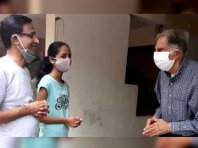 दो साल से बीमार था पूर्व कर्मचारी, हाल-चाल लेने खुद ही घर पहुंच गए Ratan Tata