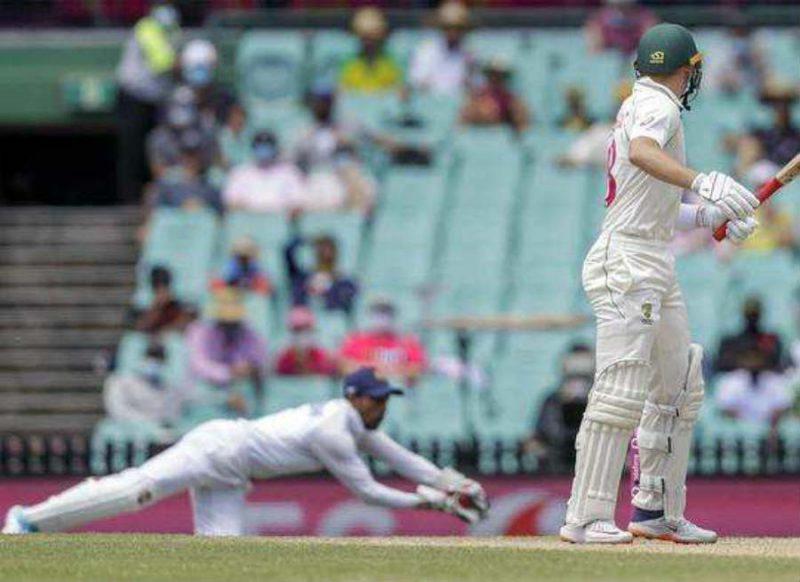Ind Vs Aus- ऋद्धिमान साहा ने लपका शानदार कैच, वीडियो देख हर कोई कर रहा तारीफ!