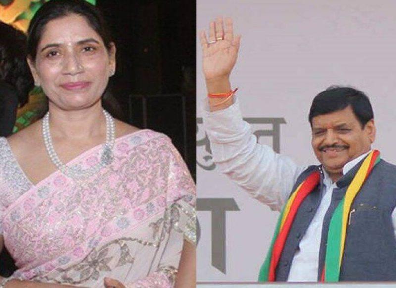 ये है अखिलेश यादव की 'करोड़पति चाची', पति शिवपाल से भी अमीर!