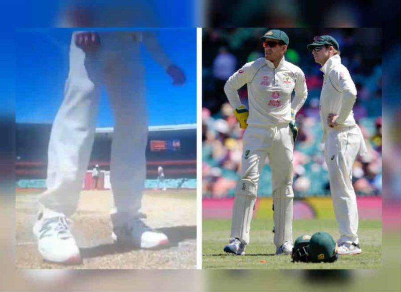 Shocking Video: IND vs AUS-पिच से 'छेड़छाड़' करते हुए रंगे हाथों पकड़े गए स्टीव स्मिथ
