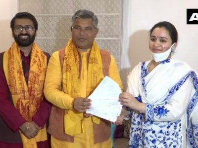 राम मंदिर: मुलायम सिंह यादव की छोटी बहू अपर्णा यादव ने दान की 11 लाख की रकम, दिया ऐसा  बयान कि…