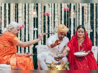 महिला पंडित ने करवाई दिया मिर्जा और वैभव रेखी की शादी, तस्वीर हुई वायरल तो लोगों ने किए ऐसे कमेंट