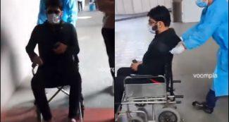 Video: व्हीलचेयर में नजर आए कपिल शर्मा, लेकिन फोटोग्राफर्स पर खोया आपा-गालीगलौज तक कर दी