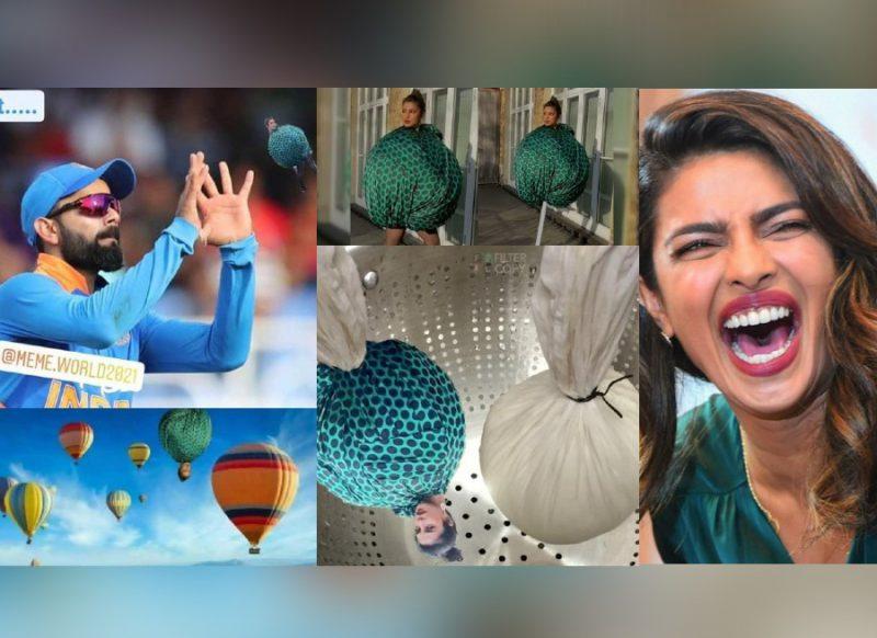 प्रियंका चोपड़ा की गुब्बारे वाली ड्रेस पर वायरल हुए मीम्स, एक्ट्रेस ने शेयर कर लिखी मजेदार बात