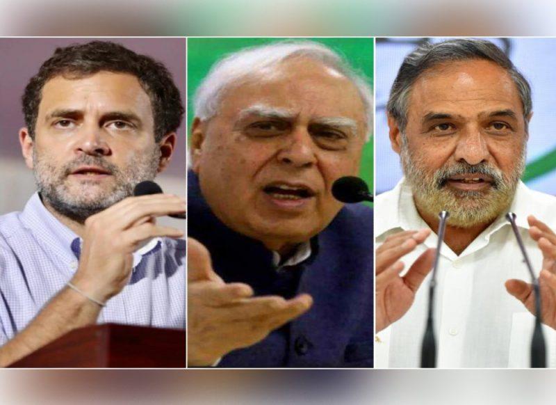 राहुल के उत्तर-दक्षिण भारत बयान पर पार्टी के अंदर कलह, सिब्बल ने उठाए सवाल तो आनंद शर्मा बोले