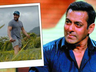 किसान आंदोलन पर सलमान खान ने तोड़ी चुप्पी, मीडिया ने पूछा सवाल तो दिया ये जवाब