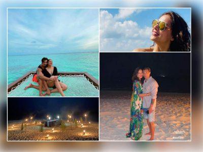 पति करण का बर्थडे सेलिब्रेट करने मालदीव पहुंची बिपाशा बसु, बहुत ही रोमांटिक तस्वीरें वायरल