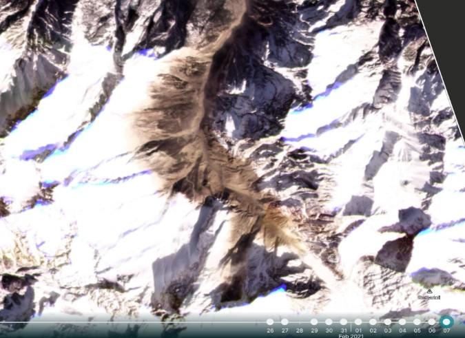 ग्लेशियर टूटने से नहीं इस वजह से हुआ चमोली हादसा, सैटेलाइट तस्वीरें देखकर ISRO-IRSS का खुलासा