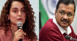 अब कंगना ने केजरीवाल सरकार को धो डाला, फिल्ममेकर के ट्वीट पर लिखा, दिल्ली में जिहादी…