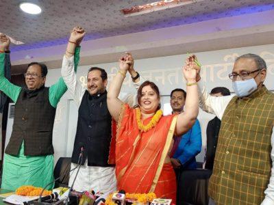 बीजेपी ने लोजपा को दिया जबरदस्त झटका, 'जीरो' हो गई चिराग पासवान की पार्टी!