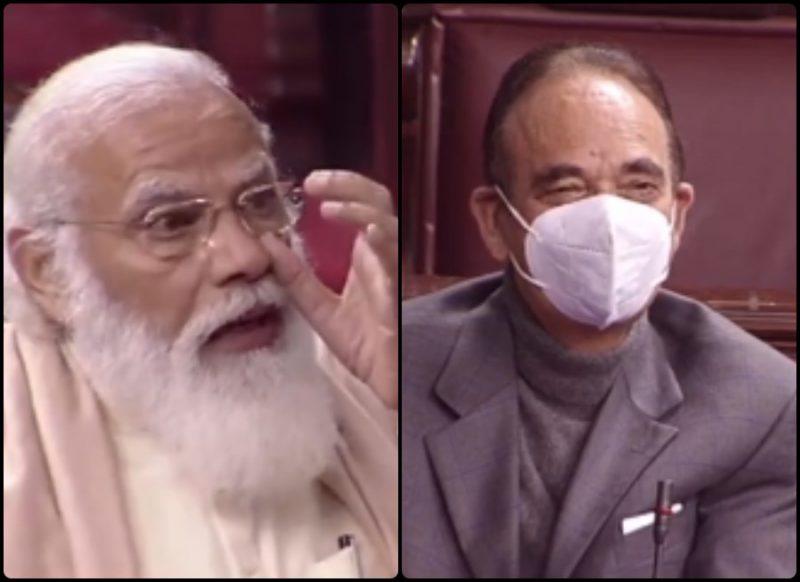 राज्यसभा में गुलाम नबी आजाद के उस फोन कॉल का जिक्र कर रो पड़े PM मोदी, बार-बार रूंधा गला