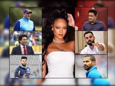 रिहाना ट्वीट विवाद: सचिन तेंदुलकर ने दिया मुंहतोड़ जवाब, तो कोहली समेत इन क्रिकेटर्स ने भी रखी राय