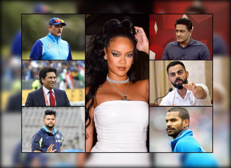 रिहाना ट्वीट विवाद: किंसान आंदोलन पर कोहली-रैना-धवन-कुंबले समेत इन क्रिकेटर्स ने भी रखी राय